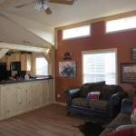 Ranch Package with Tower Dormer and Painted Accent Wall and SYP under the bar